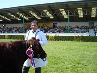 Junior champion at Yorkshire show